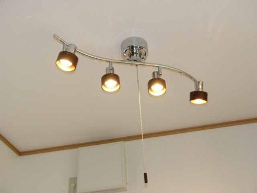 照明 ウッド サークル 4C HC-278 ブラウン