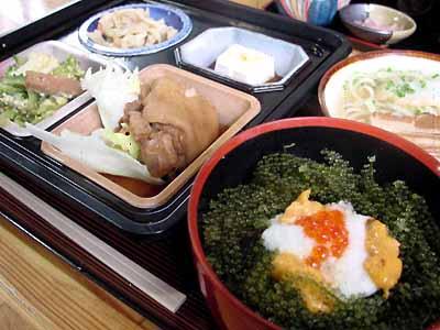 元祖 海ぶどう丼スペシャルセット