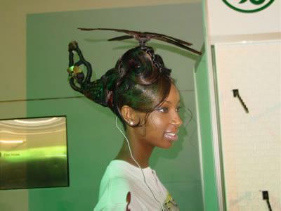 ヘリコプターヘア
