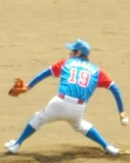 赤崎・山本投手2