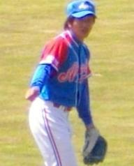赤崎・清水外野手