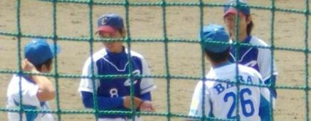 高田・馬場、戸羽両選手と江刺・藤野、杉田両選手。