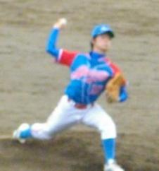 赤崎・古内投手