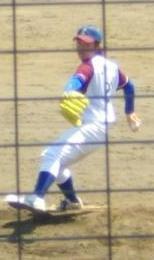 江刺・三浦投手