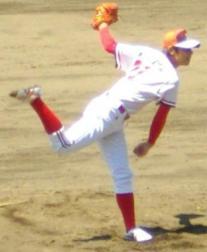 駒形・佐藤功也投手