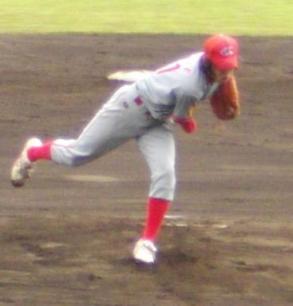 529 釜石・大瀬投手