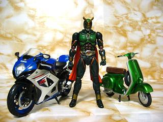 木野さんとバイク