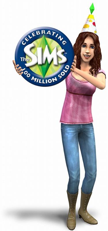 Simsシリーズ累計1億本突破