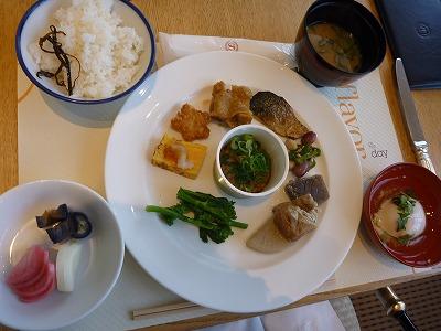 ガーデンカフェ朝食201103No.9