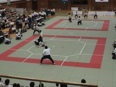 国際大学、坂本選手のスーパー飛燕。極め。