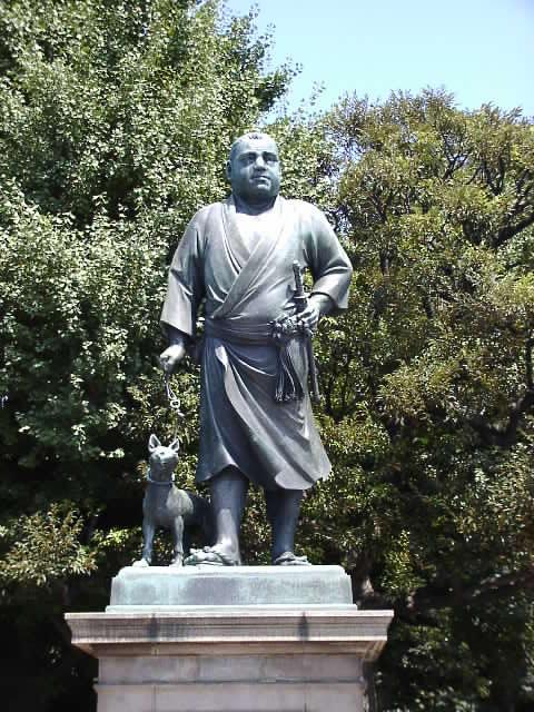 西郷隆盛銅像<上野> | 江戸東...