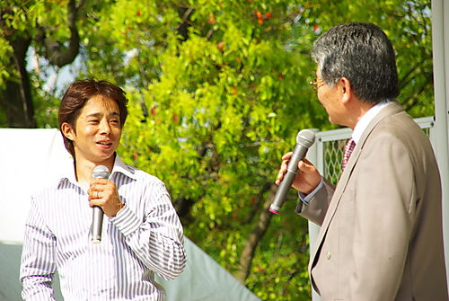 岩田康誠騎手と吉田アナ