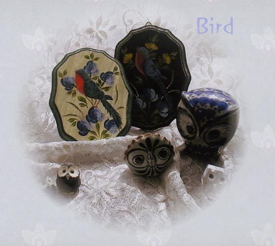 ミニプレート・・・小鳥