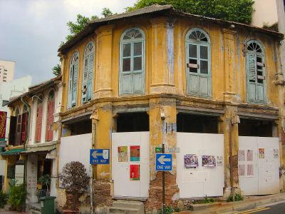 チャイナタウンの古い建物.jpg