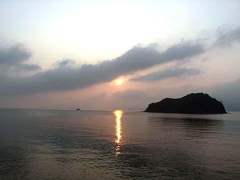 竹の子島朝