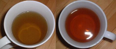紅茶の茶葉とブレンドしたものです