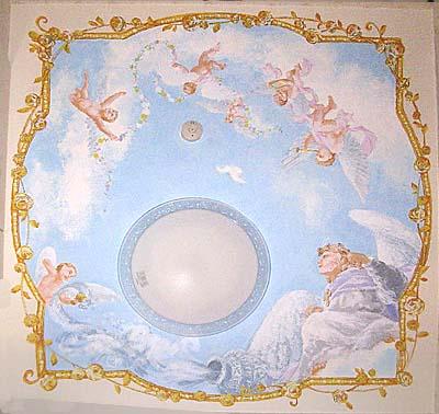 天井画14