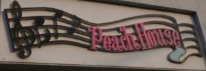 Peachの看板<カメラマン八平>