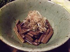 ひだ路・山菜1