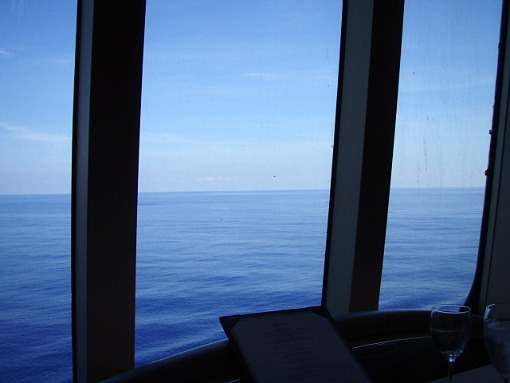 大きな海を見ながら~♪