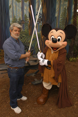 Lucas & Jedi Mickey