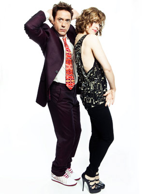 RDJ & Rachel
