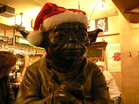 Yoda at Cantina