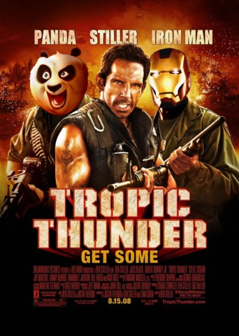 Tropic Thunder with Panda and Iron Head
