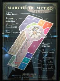 表参道地下地図
