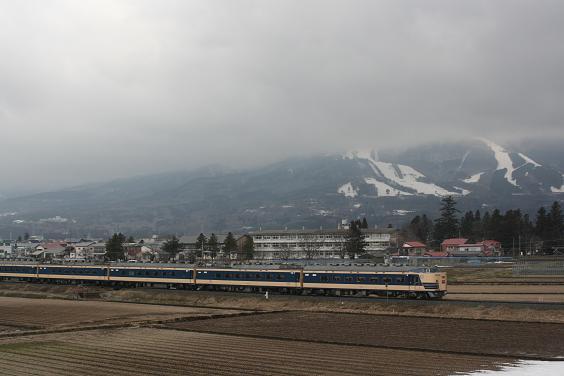 磐梯山と583