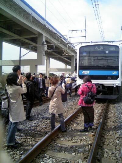 京浜東北線の事故。そのとき車内にいました。 | 「がいため ...
