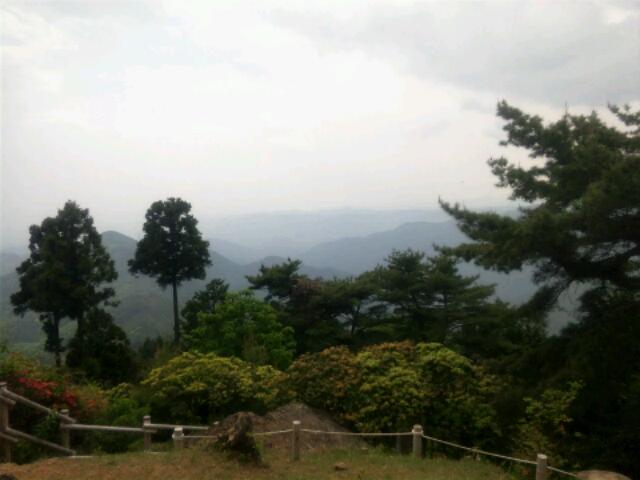 日の出山頂上からの景色2