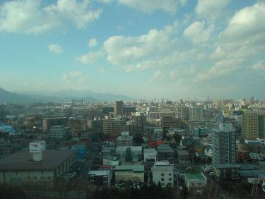 札幌市内を一望できます