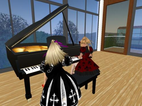 ピアノ連弾1