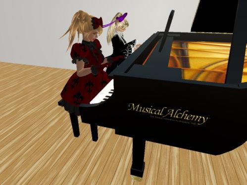 ピアノ連弾2