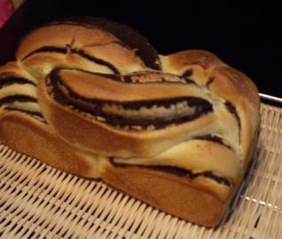 デニッシュチョコ食パン