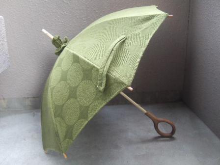 日傘つくりました