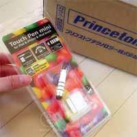 iPod touch/iPhone/iPad専用タッチペン ミニ 『PIP-TPM3』
