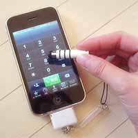タッチペン ミニ 『PIP-TPM3』をiPhoneにつなげて使ってみる