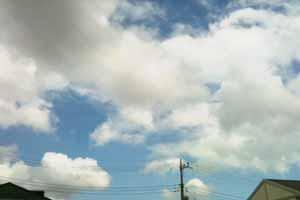 110804 入道雲の空