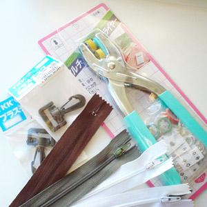 ハトメやスナップボタンを取り付ける「マルチプライヤー」など・ユザワヤでの今月の購入品