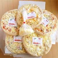 100717 ピザハウスロッソから届いた冷凍ピザ