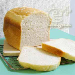 「南のめぐみ」でシンプル食パン(ホームベーカリー / 熊本県産強力粉(南のめぐみ) / ホシノ丹沢酵母)