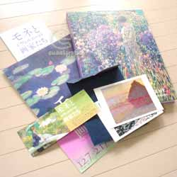 Bunkamura「モネとジヴェルニーの画家たち」展(図録など)