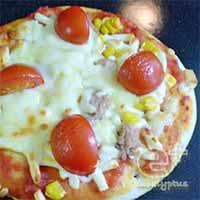 ヘルシオで市販の冷凍ピザの試し焼き