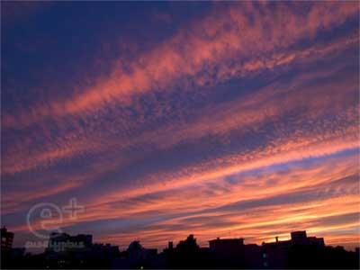 0800728の夕焼け空2