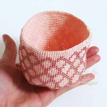 111107 フェリシモの編み物キット・編み上がり!