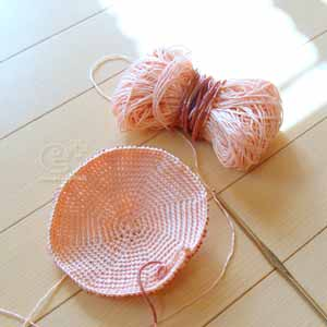 111107 フェリシモの編み物キット・今日編んだところまで(内側)