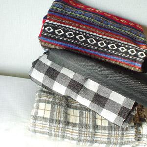 日暮里で買った布と厚手接着芯地