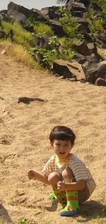 誠司(砂浜)
